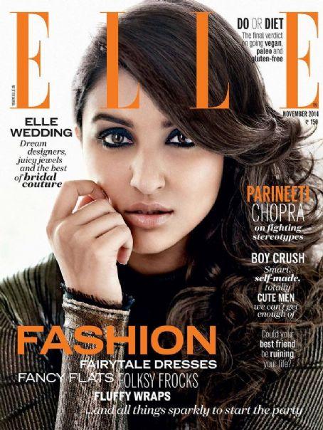 2014年11月刊《elle》杂志【中文版:《世界时装之苑》】
