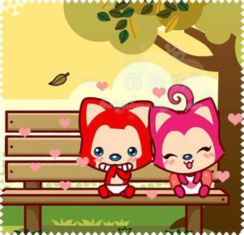 回复:阿狸.`桃子┆图片┆阿狸和桃子的爱情图片