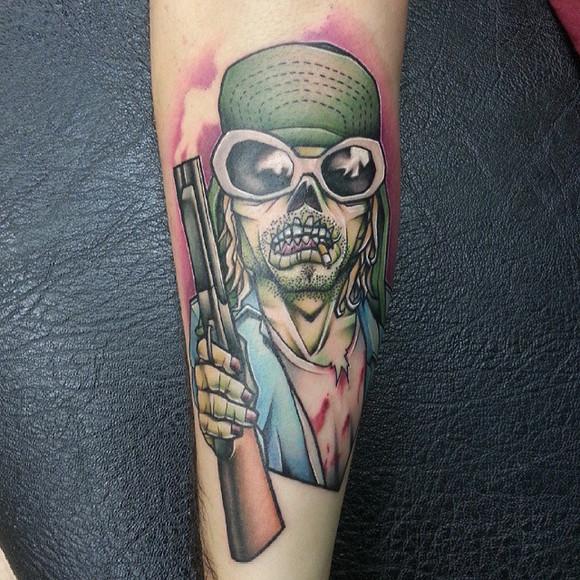 你是我的盖世英雄纹身分享展示图片