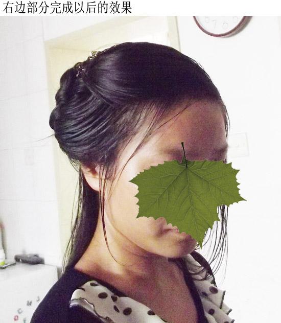 中国式古典发型图片