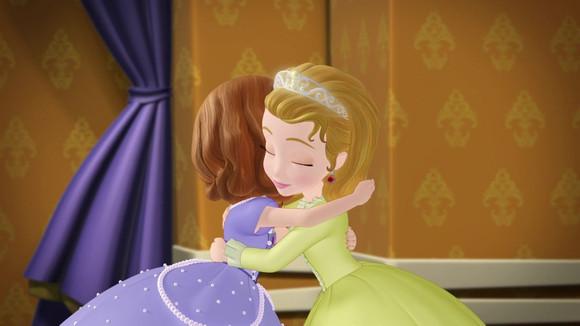 你们谁看过小公主苏菲亚,这种动画片简直是萝莉控的天堂图片