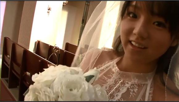 erbenyouqiai_发一些莜崎爱的婚纱照