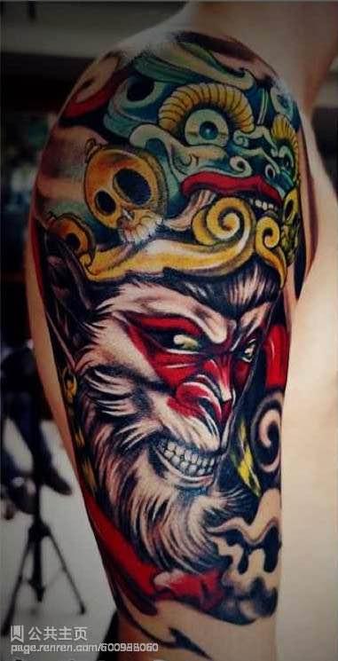 斗战胜佛胳膊纹身_斗战胜佛胳膊纹身分享展示图片图片