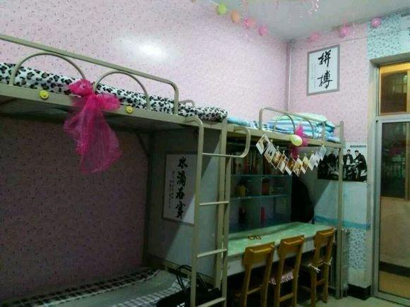 求女生宿舍图片,六人间的_宁夏大学新华学院吧_百度图片