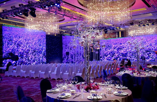 【爆照】美美哒婚礼布场图片