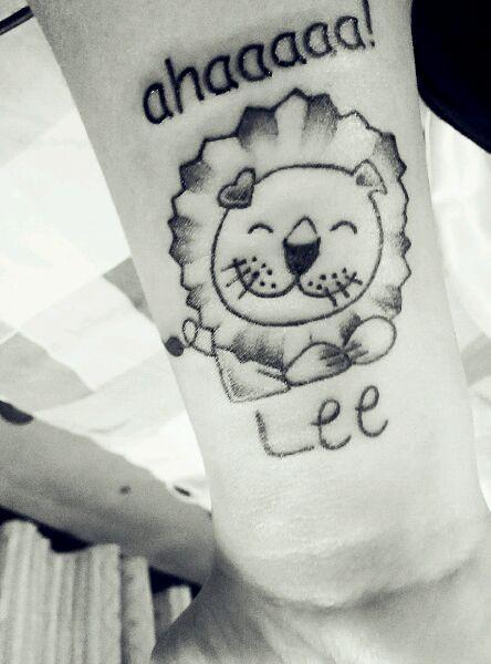 【心电图纹身腰上高清】_纹身图案