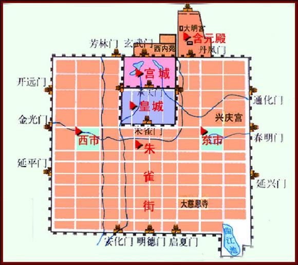 汉朝与唐朝的皇宫图片