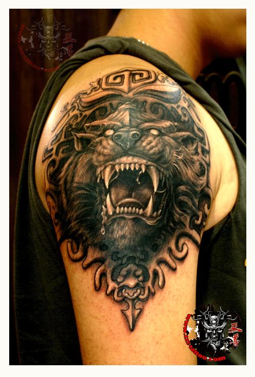 """里的""""般若""""不是一个意思,佛教的""""般若""""是指佛的智慧,而着纹身里的般若图片"""