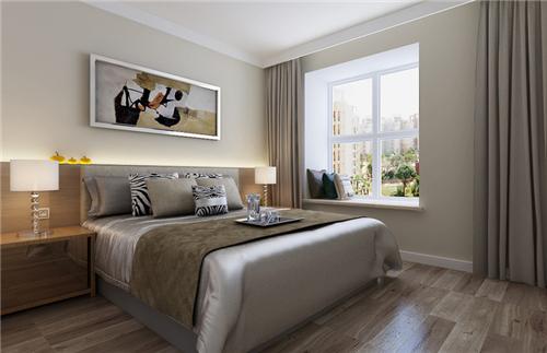 十堰装修 房屋简装效果图 10万打造成熟内敛的现代三居房