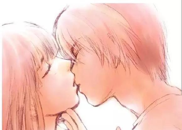 男女微信亲吻表情,让你一吻到底,幸福到底.图片