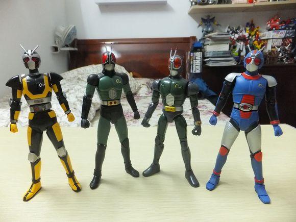 印象最深的蒙面超人系列--蒙面超人black rx
