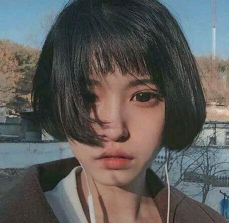 齐耳短发还是长发,有刘海还是没刘海_扒皮吧_百度贴吧图片