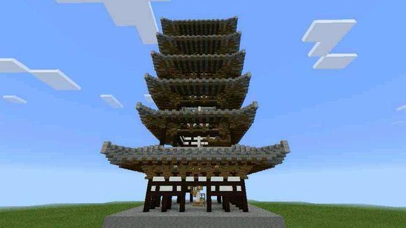 中式宝塔图片
