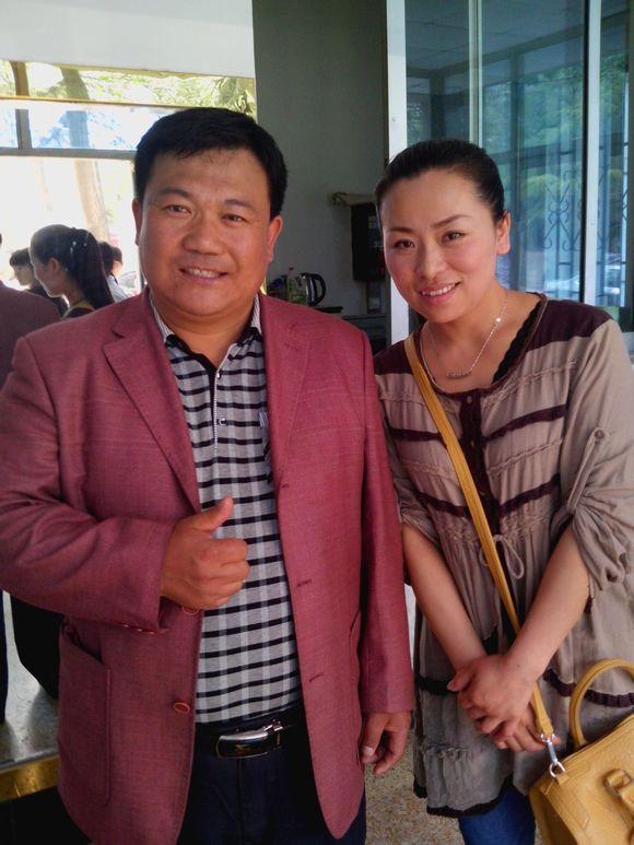 茫然哥张伟宏2014年4月16号来到济南做节目.