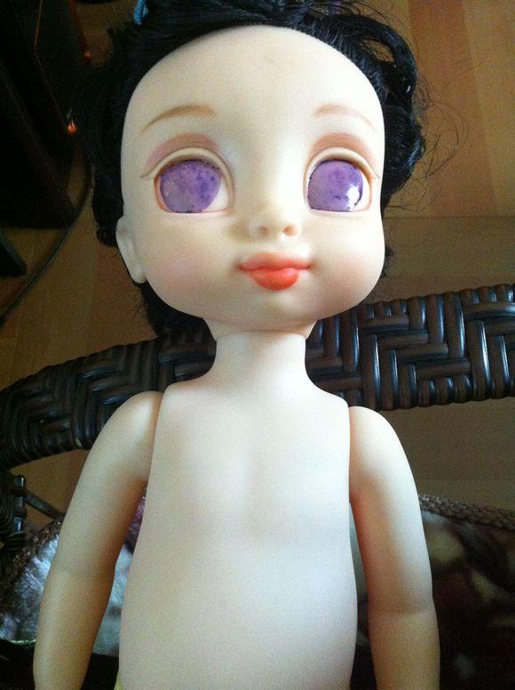 【磁力白雪】20140216玩具改妆娃娃过程棒沙龙埃菲尔铁塔图片