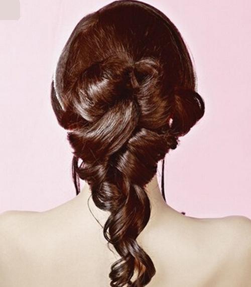 【图片】韩式新娘发型步骤 打造靓丽美娇娘【广西学吧图片