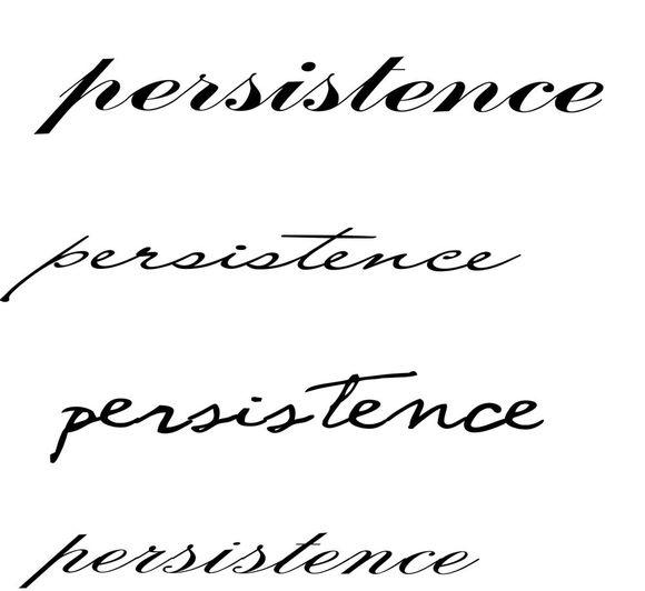 跪求persistence的英文花体图图片