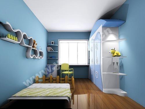 儿童房墙面翻新怎么处理?