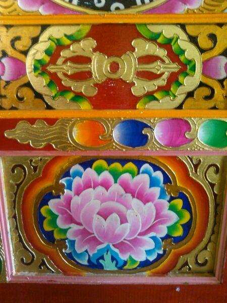 藏式艺术彩绘图片