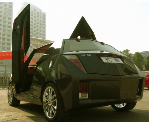 吉利风隐概念车 风隐这款车是吉利汽车研究院集体设计的