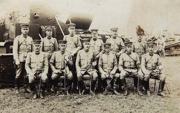 二战时日本军官图片