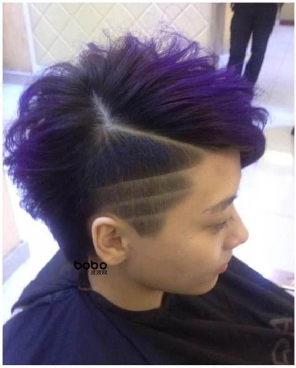 每当你们去理发店剪头发的时候是什么样的心理?图片