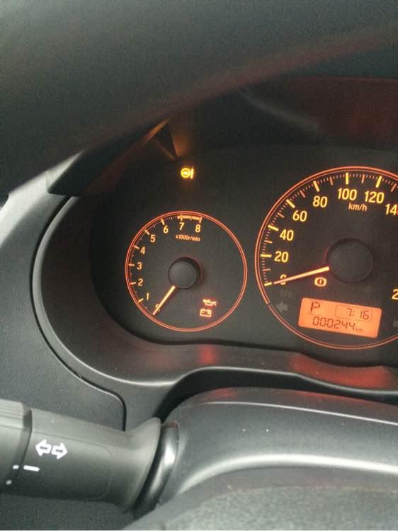 哥瑞接通机油的时候显示电脑不足翼虎v机油电源问题图片