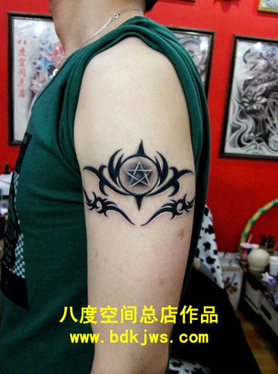 纹身兄弟图片字四个人分享展示图片