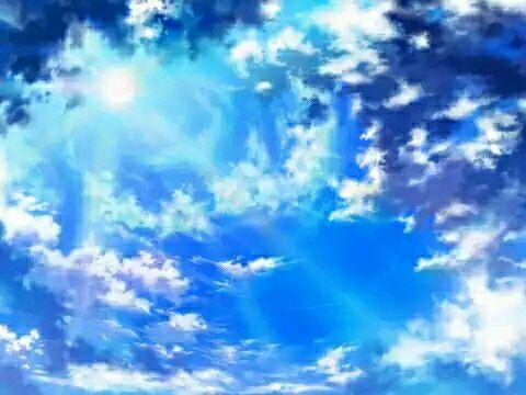 二次元天空 真的很美腻图片