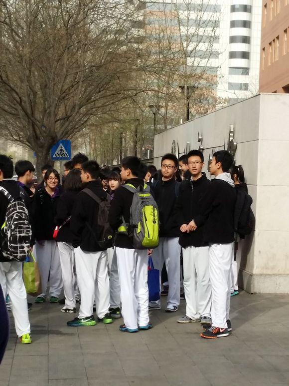3月29日八中高中部照片高中v照片体育黄浦区考场排名图片