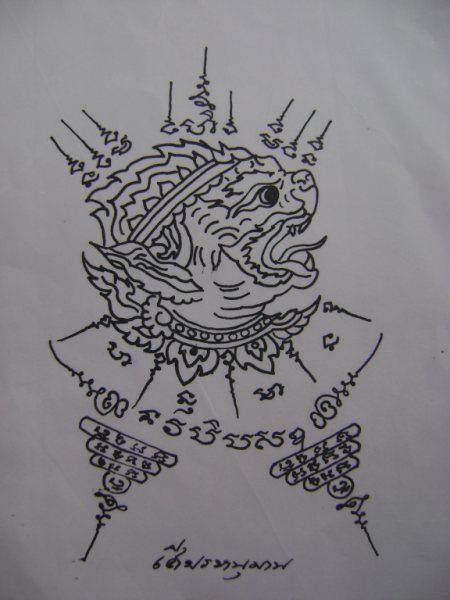 泰国刺符,常见图案前十(主打一些泰国刺符图案)图片