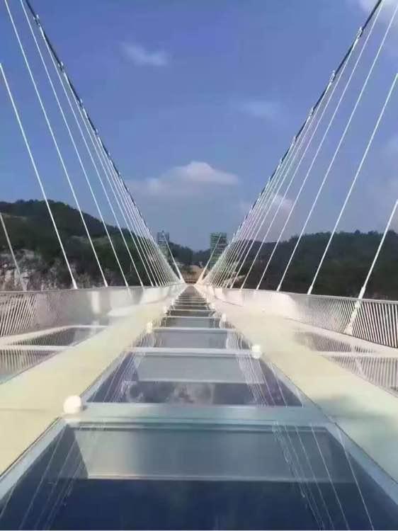 张家界玻璃桥的门票要多少钱图片