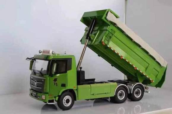 行人新帖——欧曼gtl自卸车模型图片