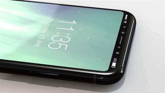 iphone 8屏幕玻璃曝光:亮屏美如画【三星g9298吧】图片