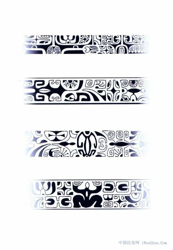 臂环纹身素材图片
