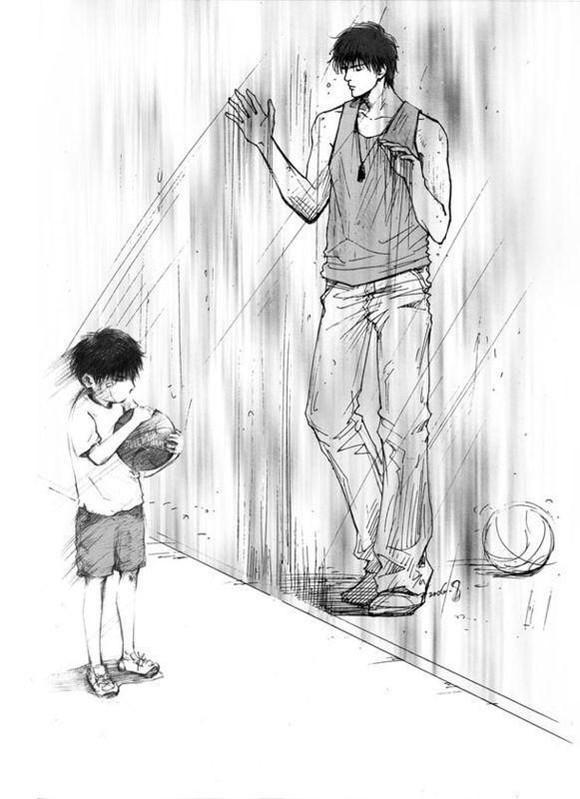 〖black out〗灌篮高手里的主角之一 流川枫 的儿子.【图片】