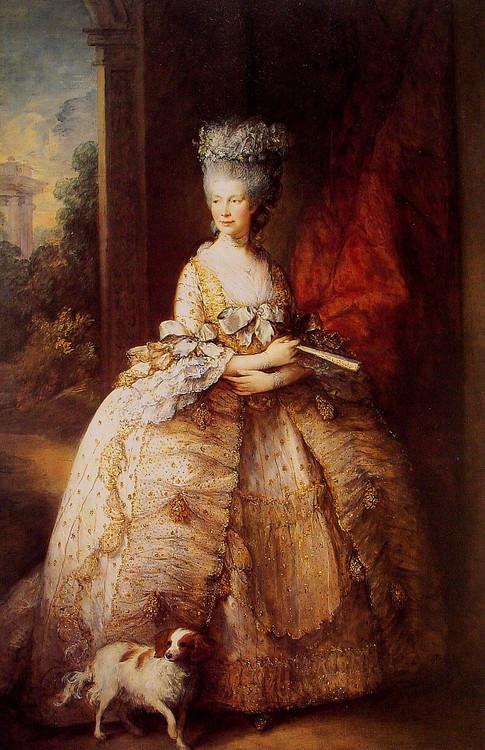 欧洲古典宫廷人物油画 高清图片