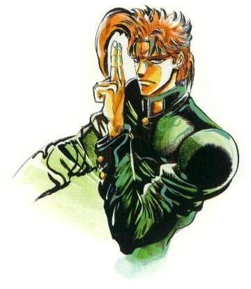 荒木飞吕彦的漫画《jojo奇妙冒险》第三部人物替 身 绿图片