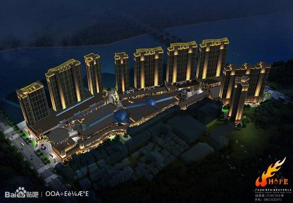 室外照明设计 灯光鸟瞰 亮化工程(广州宏硕照明设计有限公司)图片