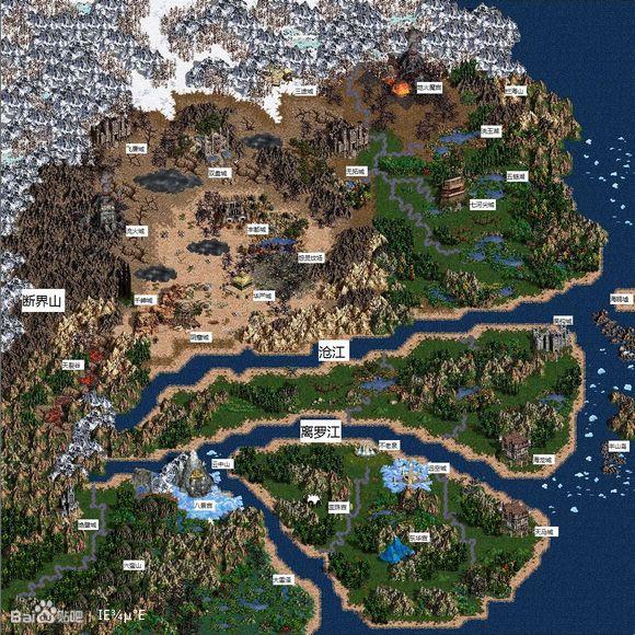 问镜无窗_问镜世界地图,heroes3版,1.
