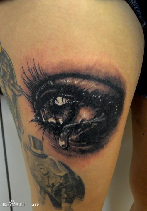 伤感纹身图案简单女分享展示图片