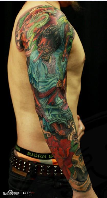 日本花腿纹身手稿-长宁图文网图片