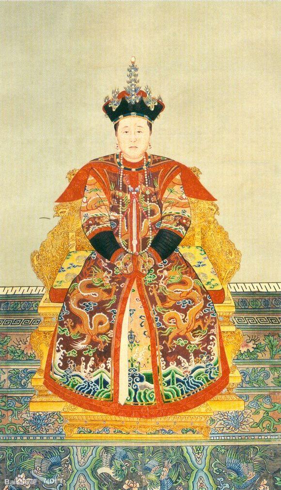 凤仪↑皇后〓巨图清朝历代后妃画像图片