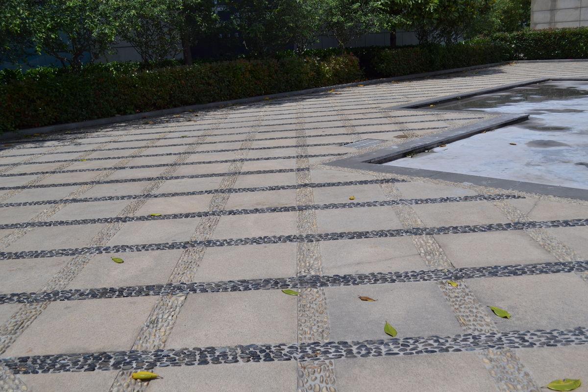 鹅卵石 鹅卵石路面 鹅卵石造型图片