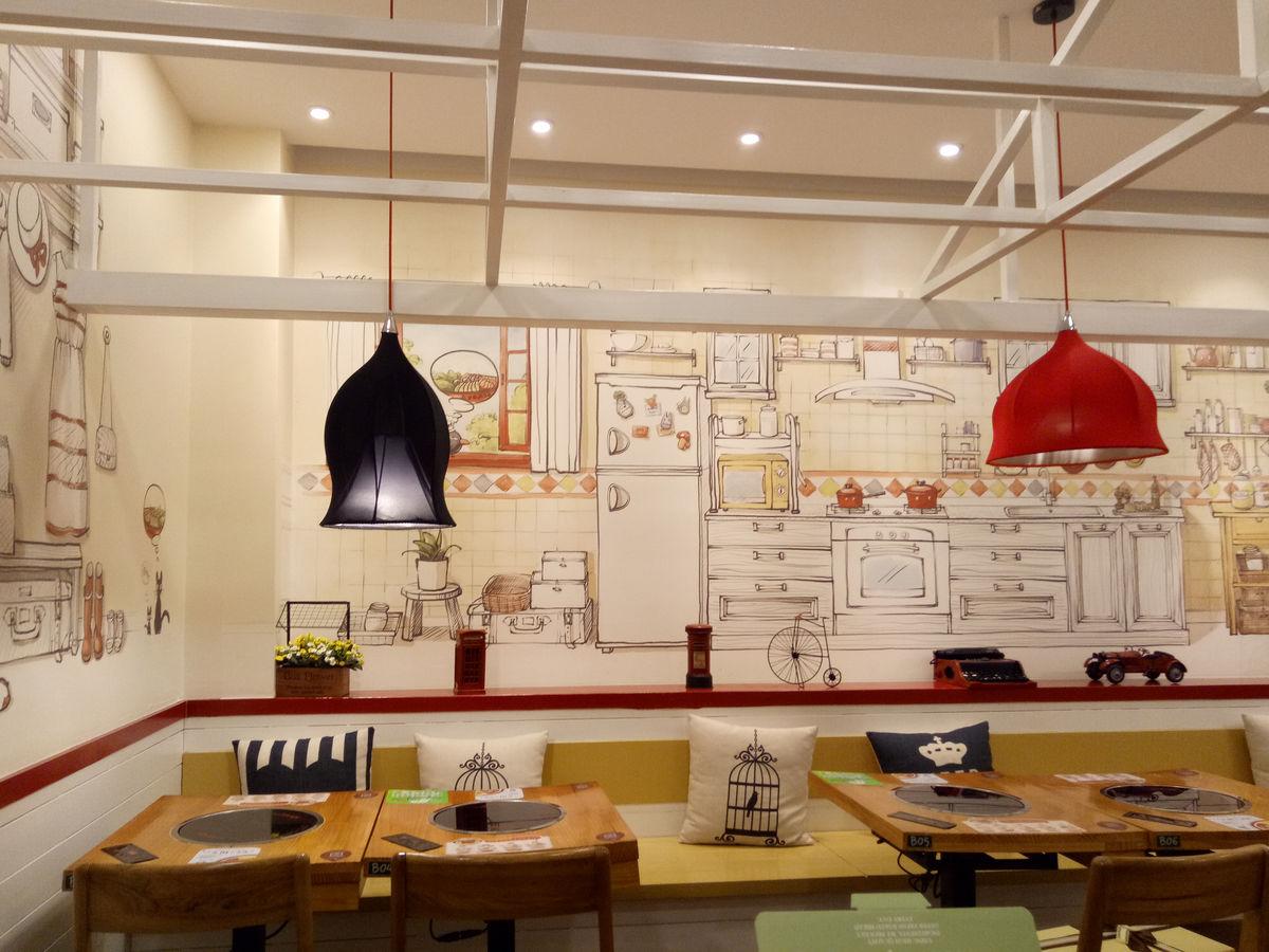韩式火锅店图片