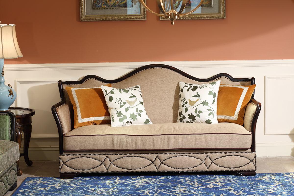 美式 沙发图片