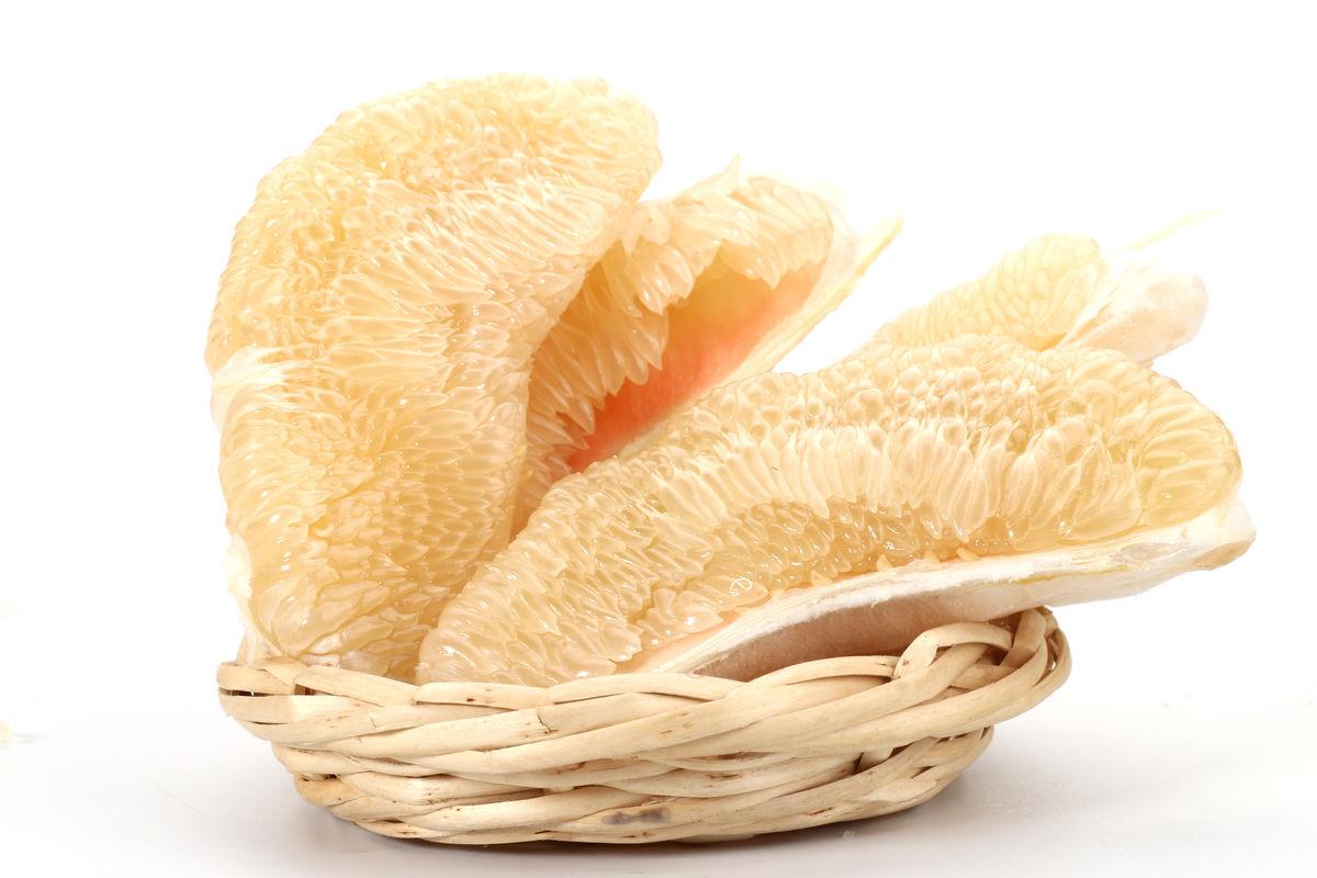 柚子肉图片