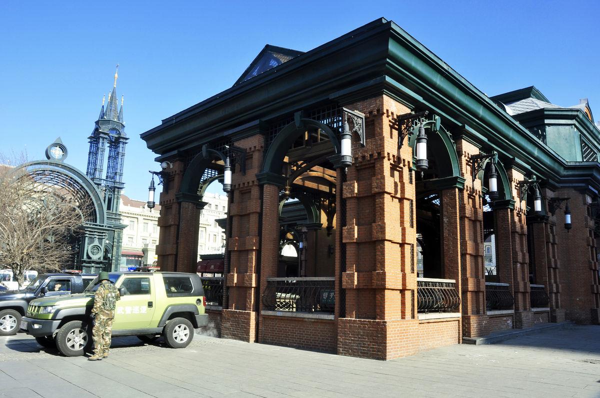 街头风光,建筑,欧式风格,哈尔滨,圣索菲亚教堂图片