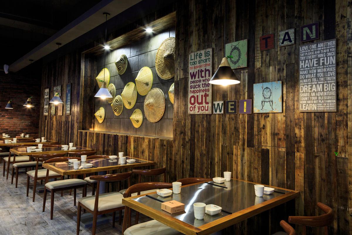 餐桌餐椅,灯光设计,风格设计,烧烤店,小吃店,火锅店,饭店装修图片