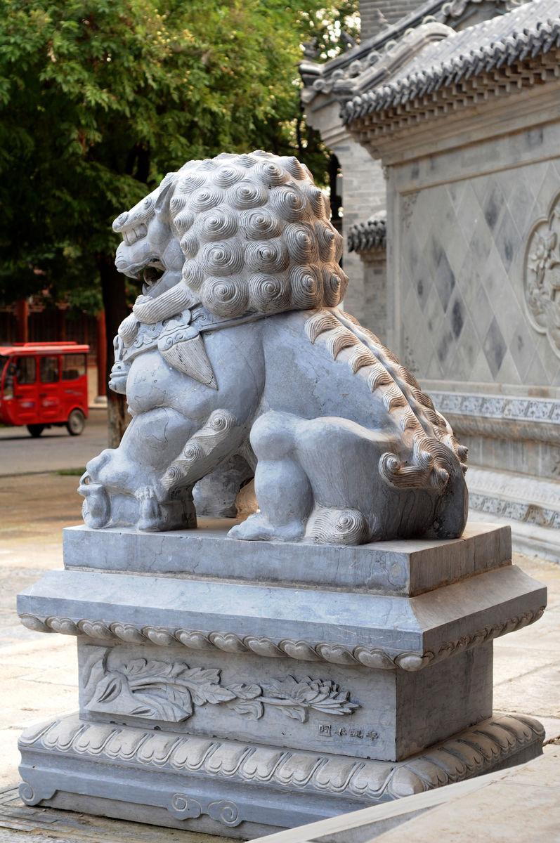 石狮,石雕,雕刻,雕塑,石兽,石狮子,狮子,石头狮子,建筑园林,雕塑石刻图片